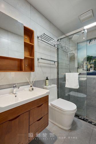 80平米三室两厅北欧风格卫生间欣赏图