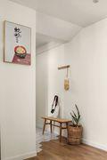 80平米三室两厅日式风格玄关图片