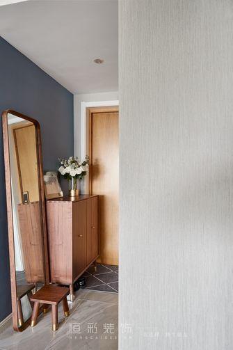 富裕型80平米三室两厅北欧风格玄关效果图