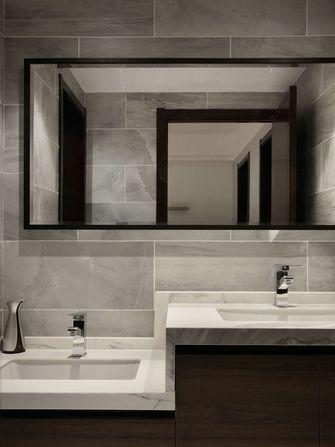 140平米四室两厅现代简约风格卫生间浴室柜欣赏图