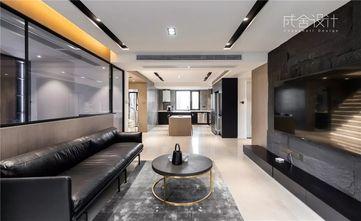 经济型140平米四现代简约风格客厅图