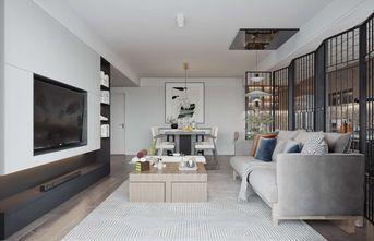 50平米三室两厅中式风格客厅设计图