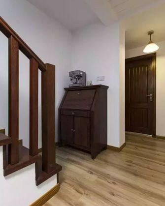 15-20万140平米三室两厅混搭风格楼梯装修图片大全