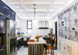 富裕型120平米三室两厅混搭风格厨房设计图