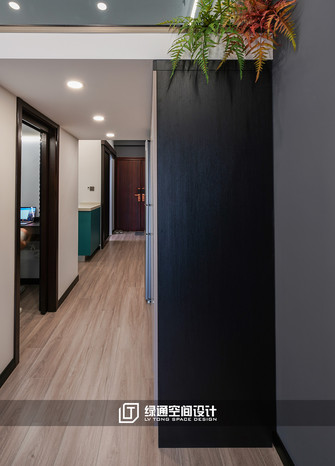 40平米小户型现代简约风格走廊设计图