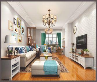 70平米一居室混搭风格客厅图片大全