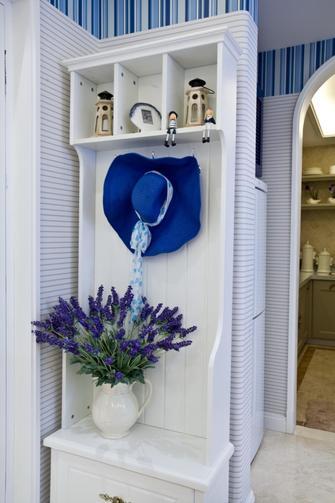 110平米三室一厅地中海风格衣帽间设计图