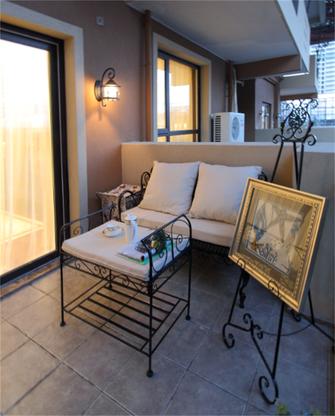 富裕型90平米三室三厅地中海风格客厅图片大全