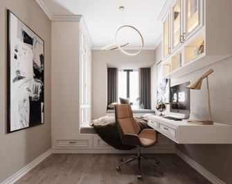 110平米三室两厅欧式风格儿童房装修效果图