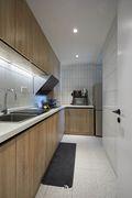 70平米三室一厅混搭风格厨房装修图片大全