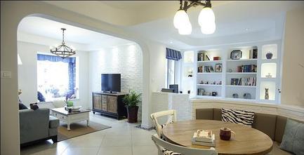3-5万60平米一室两厅地中海风格客厅图片大全
