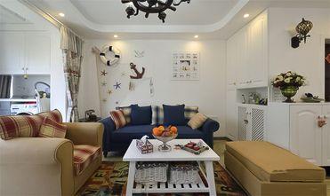 80平米地中海风格客厅效果图