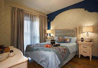 140平米三室三厅地中海风格卧室装修图片大全