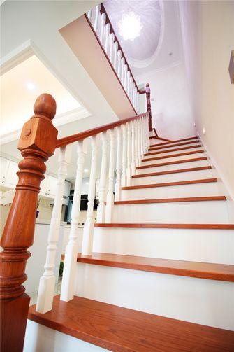 120平米三欧式风格楼梯间图片