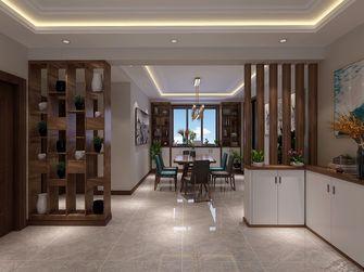 140平米三室两厅现代简约风格餐厅设计图