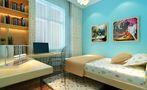 140平米复式现代简约风格儿童房装修案例