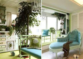 富裕型140平米四室两厅田园风格阳光房图