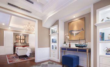 富裕型140平米四室两厅英伦风格玄关欣赏图