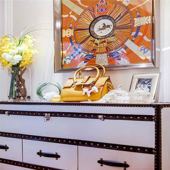 140平米三室一厅新古典风格玄关效果图