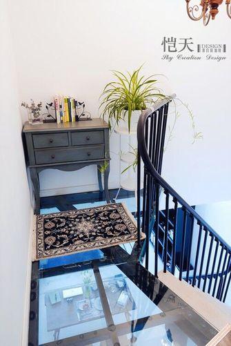经济型80平米混搭风格楼梯装修图片大全