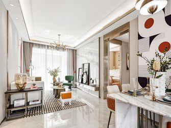 110平米三室三厅法式风格餐厅图片大全