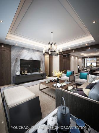 富裕型140平米四室四厅新古典风格客厅图片大全