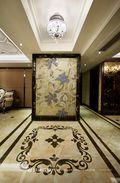 130平米三室两厅新古典风格玄关欣赏图