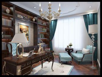 140平米别墅欧式风格书房装修图片大全