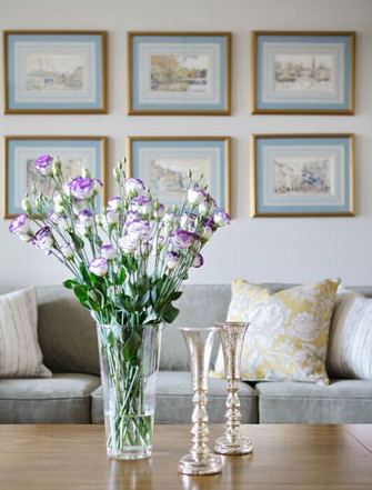 20万以上140平米三室四厅美式风格客厅图片
