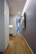 80平米三现代简约风格走廊图