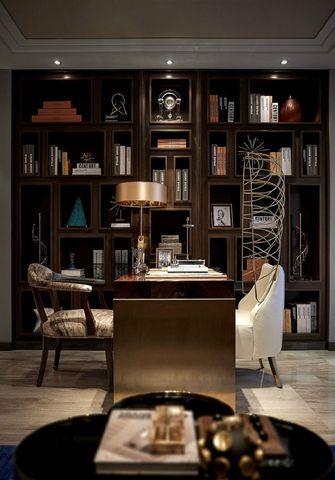 140平米复式混搭风格书房装修案例