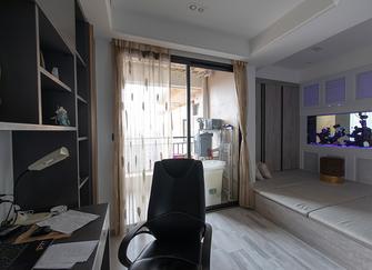 140平米三室两厅新古典风格书房设计图