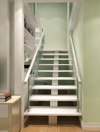 5-10万90平米复式混搭风格楼梯效果图
