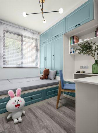 60平米三室两厅北欧风格儿童房图