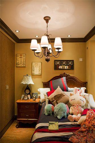 90平米三室两厅地中海风格儿童房装修图片大全