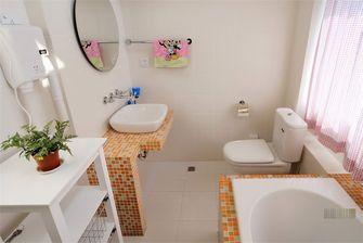 140平米别墅田园风格卫生间设计图