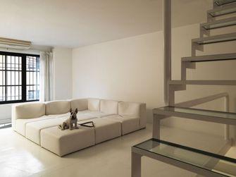 富裕型130平米现代简约风格楼梯图片大全