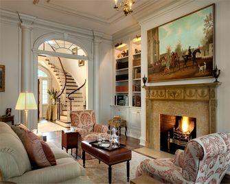 富裕型80平米法式风格阁楼装修图片大全