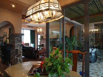 120平米三室一厅美式风格餐厅装修案例