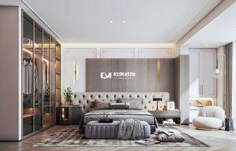 140平米三室两厅混搭风格卧室图