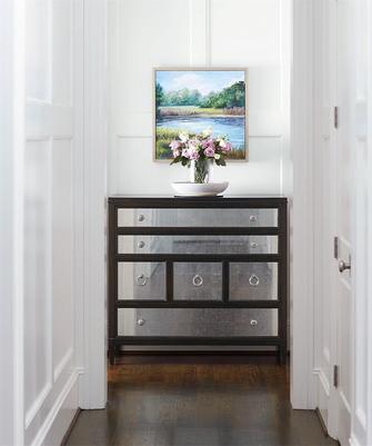 140平米四室五厅美式风格玄关装修图片大全
