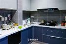 90平米三室三厅混搭风格厨房设计图