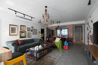 90平米三室三厅地中海风格客厅装修图片大全