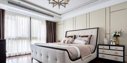 140平米四室三厅美式风格卧室图