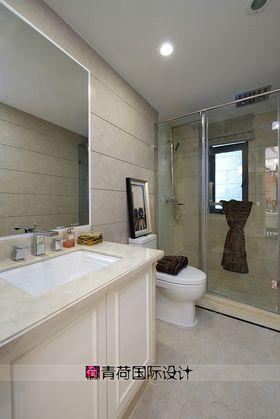 富裕型100平米三室兩廳現代簡約風格衛生間裝修效果圖