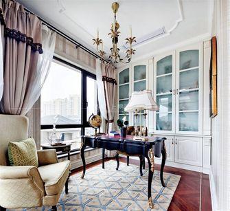 140平米四室一厅法式风格书房装修效果图