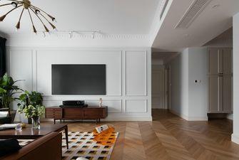 140平米三室三厅美式风格客厅效果图