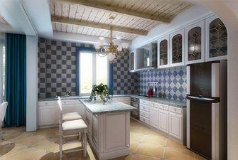 经济型120平米三室八厅地中海风格厨房图片大全