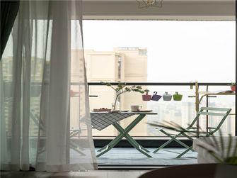 120平米三室一厅宜家风格阳台效果图