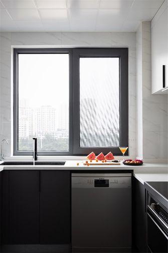 100平米现代简约风格厨房装修图片大全